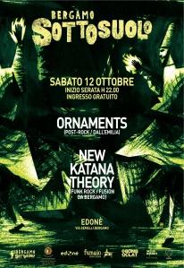 Locandina Bergamo Sottosuolo ottobre 2013 A3